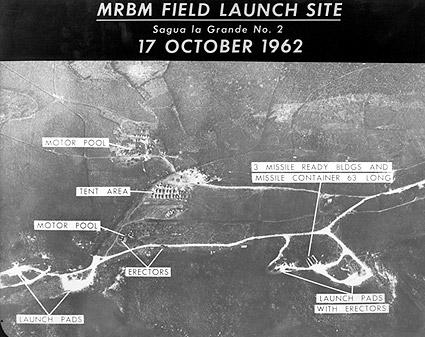 Cuban Missile Crisis Launch Site Before Photo Print