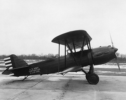 Curtiss O-26 Observation Aircraft Side View Photo Print