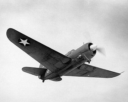 Curtiss SB2C Helldiver in Flight WWII  Photo Print