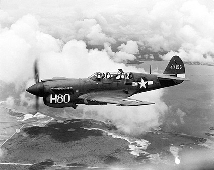Curtiss TP-40 / P-40 Warhawk Trainer Photo Print