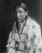 Dakota Red Oak Indian Edward S. Curtis 1907 Photo Print for Sale