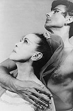 Dancers Martha Graham and Bertram Ross  Photo Print for Sale