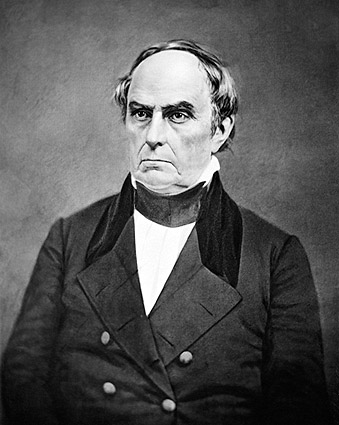 Daniel Webster Mathew Brady Portrait Photo Print
