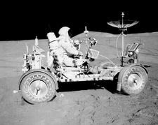 David Scott & Lunar Rover Apollo 15 NASA Photo Print