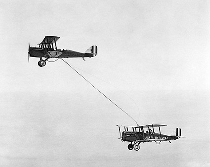 De Havilland DH-4 First Midair Refueling Photo Print