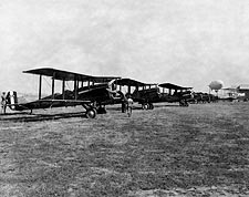 De Havilland DH-4 & Others at Air Races Photo Print for Sale