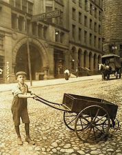 Delivery boy, Child Labor, Ohio Lewis Hine Photo Print for Sale
