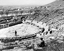 Dionysos / Dionysus Theatre Athens Greece Photo Print for Sale