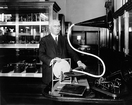 Disc Record Inventor Emile Berliner  Photo Print