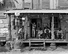 Dorothea Lange Country Store on Dirt Road, North Carolina Photo Print for Sale
