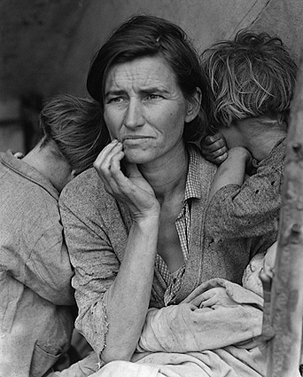 Dorothea Lange Migrant Mother 1936 Photo Print