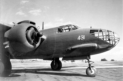 Douglas A-20 Havoc Attack Plane Close-Up Photo Print