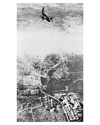 Douglas A-20 Havoc Bombing North Africa Photo Print