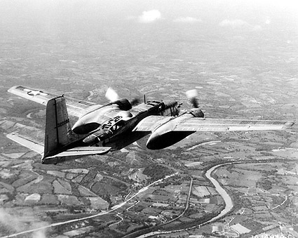 Douglas A-26 Invader WWII Aircraft Flight Photo Print