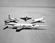 Douglas X-3, D-558, XF4D, D-558-2 Photo Print for Sale