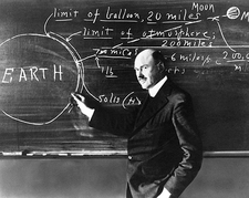 Dr. Robert Goddard Clark University 1924 Photo Print