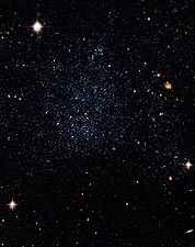 Dwarf Galaxy Holmberg IX Hubble Space Telescope Photo Print for Sale