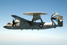 E-2 Hawkeye of VAW-121 Photo Print