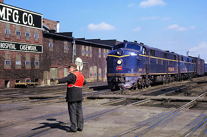 E-7AA Wabash Railroad Photo Print