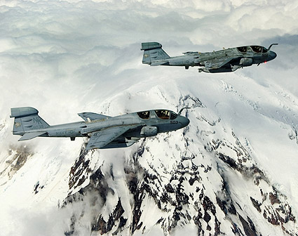 EA-6 / EA-6B Prowler Cougars VAQ-139 Photo Print