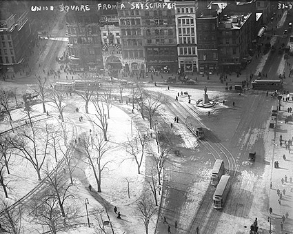 Early New York Union Square 14th Street Photo Print