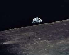 Earthrise Apollo 10 Mission NASA Photo Print for Sale