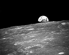 Earthrise Apollo 8 Mission NASA Photo Print for Sale