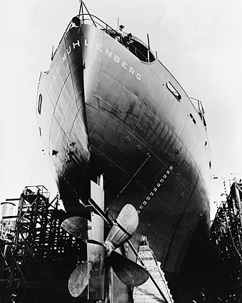 EC-2 Liberty Ship West Coast Shipyard WWII Photo Print