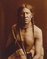 Edward S. Curtis Native American Portrait Photo Print for Sale