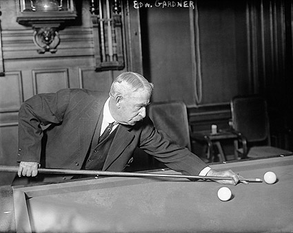 Edward W. Gardner Billiards Champion Photo Print