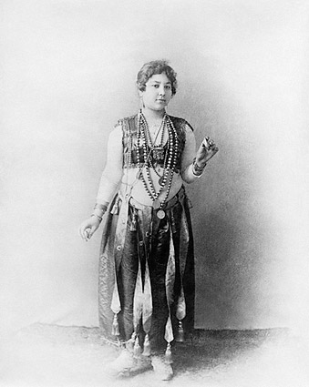 Egyptian Dancer Worlds Columbian Expo 1893 Photo Print