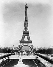 Eiffel Tower 1889 World's Fair Paris Exposition Photo Print for Sale