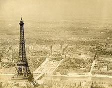 Eiffel Tower and Trocad�ro in Paris 1915 Photo Print for Sale