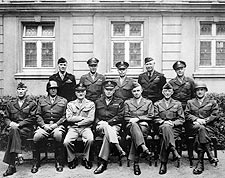 Eisenhower, Patton & American Generals WWII Photo Print for Sale