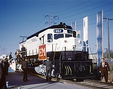 EMD General Motors Model GP-30 Train Photo Print for Sale
