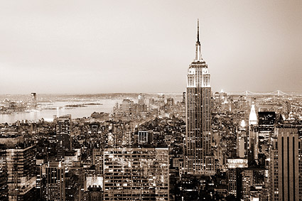 Empire State Building New York City Photo Print