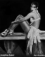 Entertainer Josephine Baker Portrait Photo Print for Sale