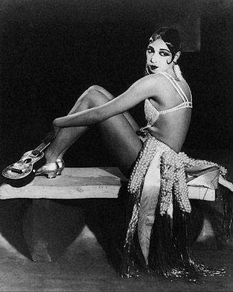 Entertainer Josephine Baker Portrait Photo Print