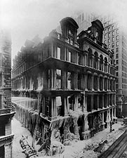 Equitable Building Fire Ruins New York City Photo Print for Sale