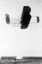Eugene Lefebvre In Wright Brothers Plane Photo Print for Sale