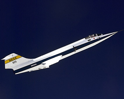 F-104 Starfighter in Flight NASA Photo Print