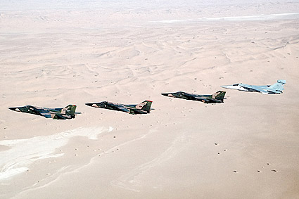 F-111F and EF-111A Desert Storm Formation Photo Print