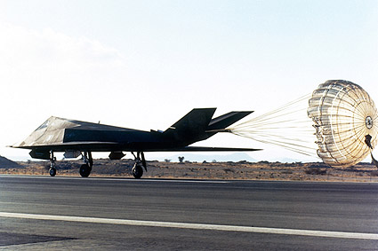 F-117 Nighthawk Landing Air Force Photo Print