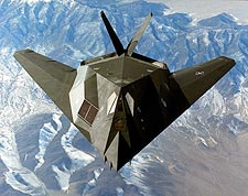 Lockheed F-117 Night Hawk Stealth Fighter Photos