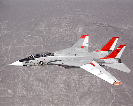 F-14 Tomcat Aircraft in Flight NASA Photo Print