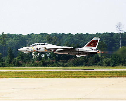 F-14 Tomcat Low Pass w/ Afterburners Photo Print