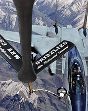 F-14 Tomcat of VF-32 'Swordsmen' Refueling Photo Print for Sale