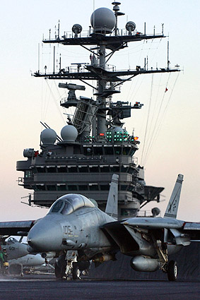 F-14 Tomcat USS Harry S. Truman US Navy Photo Print