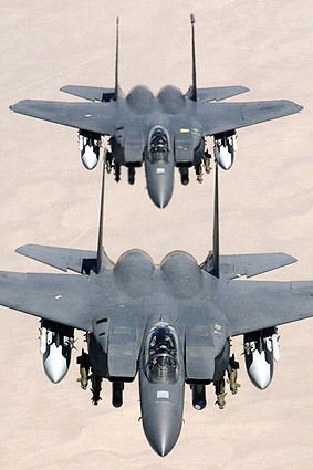 F-15 / F-15E Strike Eagle Fighter Aircraft Photo Print