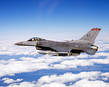 F-16 Falcon in Flight Photo Print
